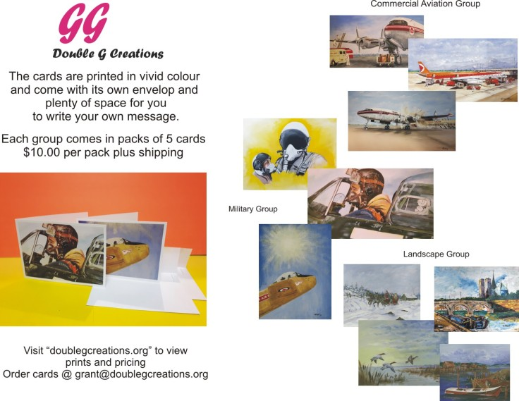 Note Card Flyer all card groups